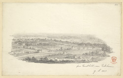 A View From Forest Hill, South London, 1828
